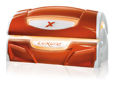 Solarium luxura x7 coloris orange